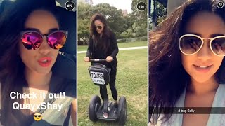 getlinkyoutube.com-Shay Mitchell | Snapchat Videos Compilation (August 2015) (featuring Britney Spears & Ashley Benson)