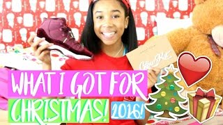 WHAT I GOT FOR CHRISTMAS 2016!