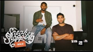 getlinkyoutube.com-Sneaker Shopping With Usher | Complex
