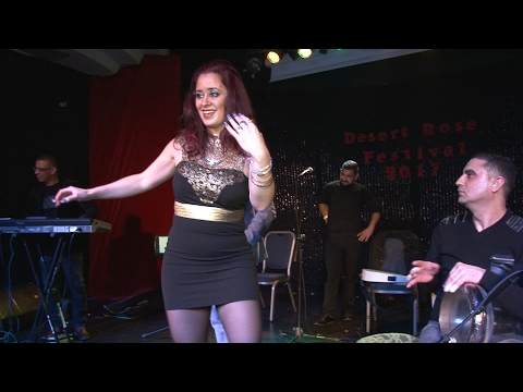 Bellydancer Kahina Mashati  Live band  Ya Bint Al Sultan