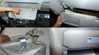 getlinkyoutube.com-DIY Camry Sun Visor Repair
