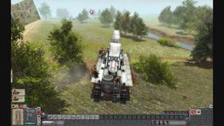 getlinkyoutube.com-Men of War - Karl Thor (Mörser Karl Gerät 040), 600mm self-propelled siege howitzer