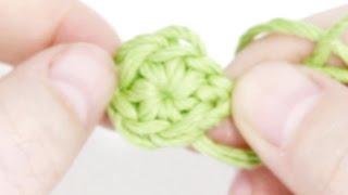 getlinkyoutube.com-Кольцо амигуруми (волшебное, скользящее) ♥ 7 урок