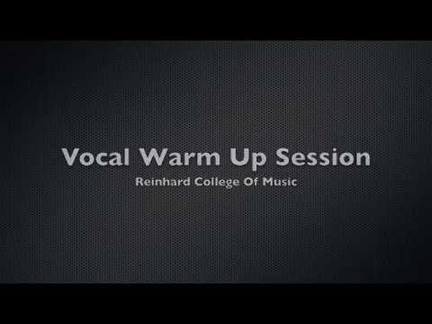 Singing Lessons - Vocal Warm Up Exercises