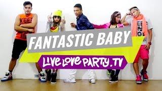 getlinkyoutube.com-Fantastic Baby by BIGBANG | Zumba® Fitness | Live Love Party | KPOP