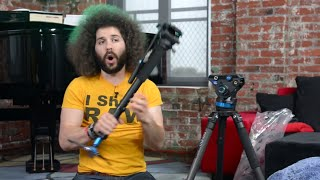 getlinkyoutube.com-I am always on the lookout for NEW TRIPODS (Postman Fro)