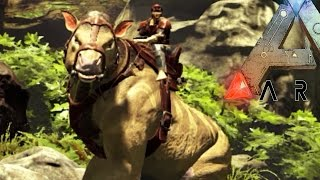 getlinkyoutube.com-Ark Survival Evolved - CHALICOTHERIUM TAMING, FAILS & DEATH BY REDBULL S3E10 (Ark Update Gameplay)