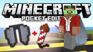 getlinkyoutube.com-Infinite Elytra Flight Booster Trick in MCPE! | Minecraft PE 1.0 Addon