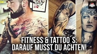 getlinkyoutube.com-Fitness & Tattoo - Darauf musst du achten & realistic Tattoo by Florian Karg