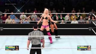 getlinkyoutube.com-WWE 2K16 Candice Michelle vs Torrie Wilson
