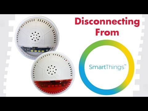 How To Exclude Devices From SmartThings: FortrezZ Indoor Siren & Strobe Alarm