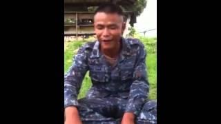 ทหารเทศน์แหล่ นินทาครูฝึก