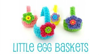 getlinkyoutube.com-Episode 187: How To Crochet Little Egg Baskets