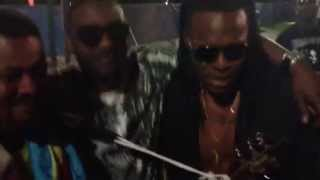 Flavour - Hanging Out with Fally Ipupa and D'Banj
