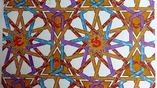 getlinkyoutube.com-Art by Eric Broug - Islamic Geometric Compositions. Volume 1