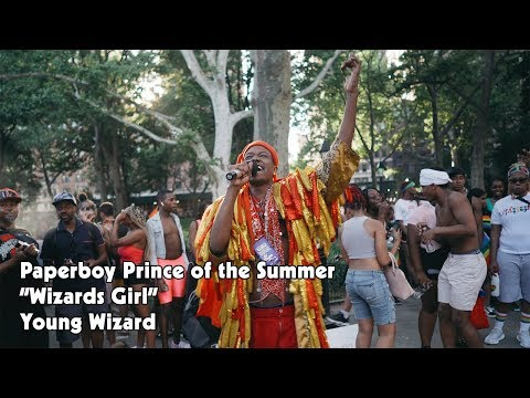 Wizards Girl music video by Paperboy Prince of the Suburbs