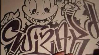 getlinkyoutube.com-How to draw graffiti.