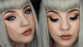 getlinkyoutube.com-All Matte Peach Smokey Eye | Makeup Tutorial | shlemonade