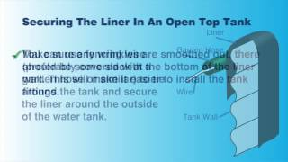 getlinkyoutube.com-Tank Liner Installation Instruction - Open Top and Closed Top Water Tanks