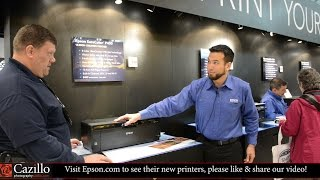 Epson SureColor P400, P600 and P800 Printer Overview