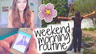 getlinkyoutube.com-Weekend Morning Routine!