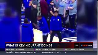 Kevin Durant DANCE MOVES