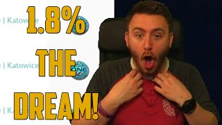 getlinkyoutube.com-1.8% THE DREAM! (CSGO Jackpot - Skin Gambling)