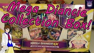 Pokemon Cards- Mega Diancie EX Premium Collection Box Opening!
