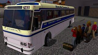 getlinkyoutube.com-Euro Truck 2 Brasil: Viajando de ônibus - CMA Flecha azul Scania K124 IB