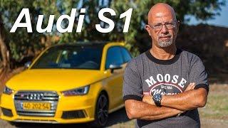 getlinkyoutube.com-Audi S1 Test Drive - Audi S1 בועז קורפל בוחן
