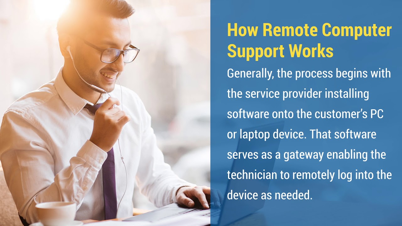 What is Online Remote Computer Support