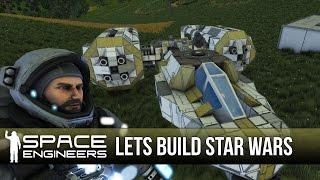 getlinkyoutube.com-Space Engineers - Lets Build Star Wars Stuff!