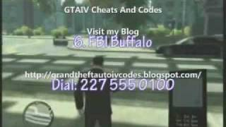 getlinkyoutube.com-Grand Theft Auto IV Cheating Codes 100% Working