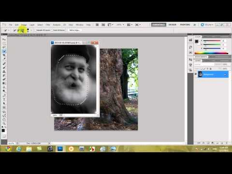 فوتوشوب - دمج صورتين و جعلها و كأنها حقيقية - photoshop