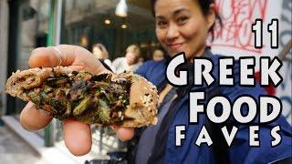 11 TOP GREEK FOODS | Athens, Greece