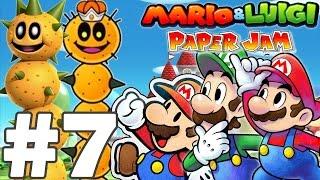 getlinkyoutube.com-MARIO & LUIGI PAPER JAM BROS Episode 7 FR Nintendo 3DS & 2DS ! DES POKEYS INVINCIBLES