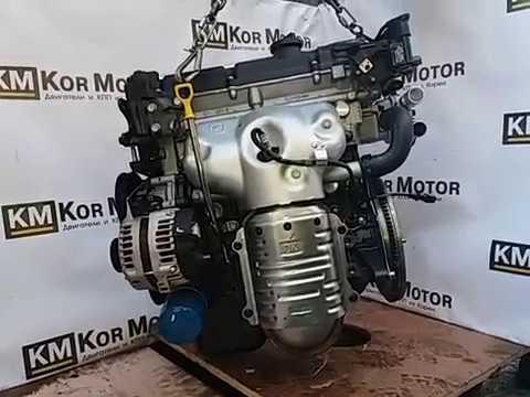 Двигатель Хендай Акцент 1,5 литра G4EC. Новый