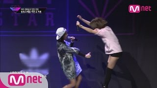 getlinkyoutube.com-[Unpretty Rapstar]ep.06: Jimin & Kisum @ team work battle(′욕해? go ahead!′ 지민&키썸)