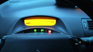 How to turn on only rear fog light without front turned on - Citroen C4