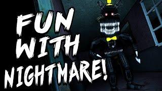 getlinkyoutube.com-NIGHTMARE JUMPSCARES! | Fun With Nightmare | Part 1