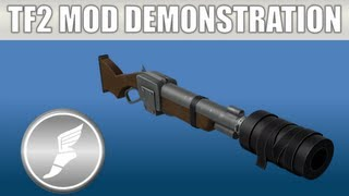 TF2 Mod Weapon Demonstration: The Suppressed Repressor