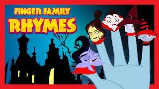 getlinkyoutube.com-FINGER FAMILY RHYMES  for Children | HALLOWEEN HORROR NIGHT SONGS for Children 2015