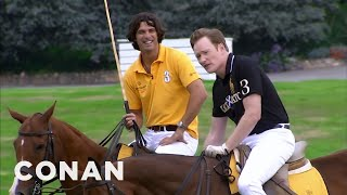getlinkyoutube.com-Conan Learns To Play Polo  - CONAN on TBS