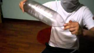 getlinkyoutube.com-como hacer un compresor.portable (sin corriente)pistolas aerografica parte 1