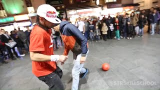 getlinkyoutube.com-Insane STREET Football Skills - Panna London Pt2 Séan Garnier
