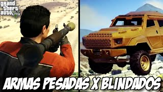 getlinkyoutube.com-GTA V - Armas Pesadas X BLINDADOS, será que tem como?