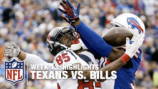 getlinkyoutube.com-Texans vs. Bills | Week 13 Highlights | NFL