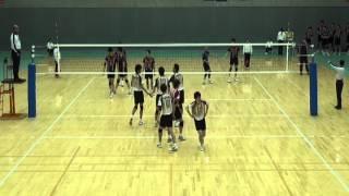 getlinkyoutube.com-全日本バレーボール大学選抜男女東西対抗戦2012 男子 2日目(full)