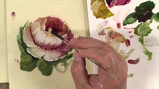 getlinkyoutube.com-Painting Tapestry Flowers- Tapestry of Strokes Book Video 1