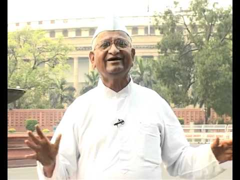 Anna Hazare's indefinite fast against corruption